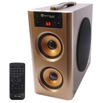 Rockville RHB70 Home Theater Compact Powered Speaker System w Bluetooth/USB/FM  - Online Auction Monday, March 30th, 2020 At 7PM EST.  Online Retailer Return & More | No Reserves! #Liqudation #LiquidationAuction #OnlineAuction #RetailerReturns #Electronics