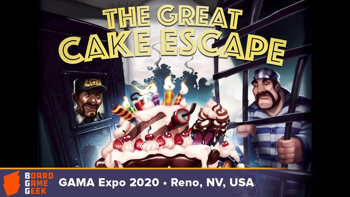test Twitter Media - How well can you stuff things inside a cake? You can test this with an actual cake—or you can play The Great Cake Escape from @jtreat3 and @wizkidsgames to keep the frosting off your hands.  Here's an overview from GAMA Expo 2020: https://t.co/qsMrcYZxYa. —WEM https://t.co/GQoW0i5XPu