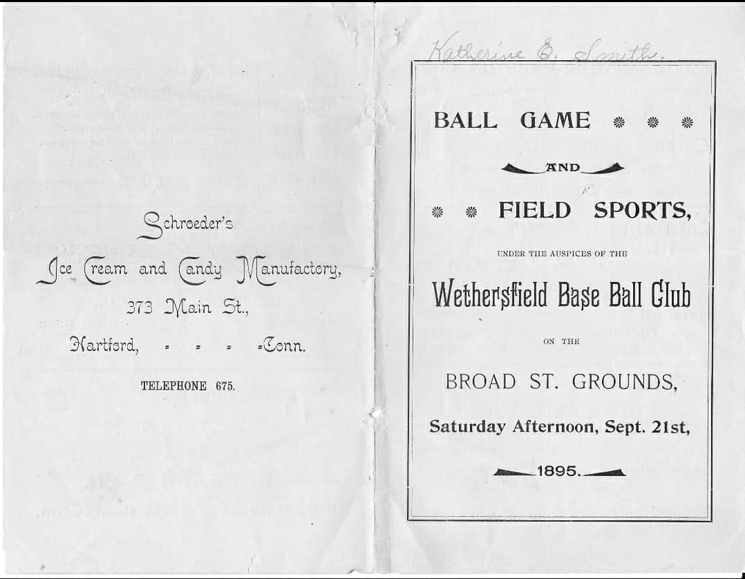 Enjoy these images of Wethersfield's baseball legacy, and read about wicket, baseball and Charley Onions in this Article from the Community: https://www.wethersfieldhistory.org/articles/wethersfields-glorious-baseball-history/ …  #Wethersfield #OldWethersfield #Baseball #Wicket #CharleyOnions #ConnieMackpic.twitter.com/BnC15rN36W