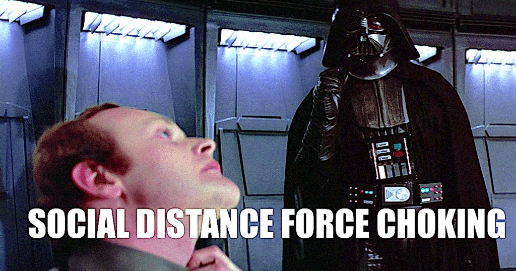 Help us, Star Wars coronavirus memes. You're our only hope.