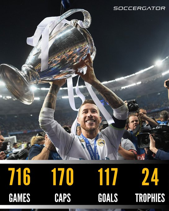 Happy 34th birthday to one of the best center-backs of all time, Sergio Ramos