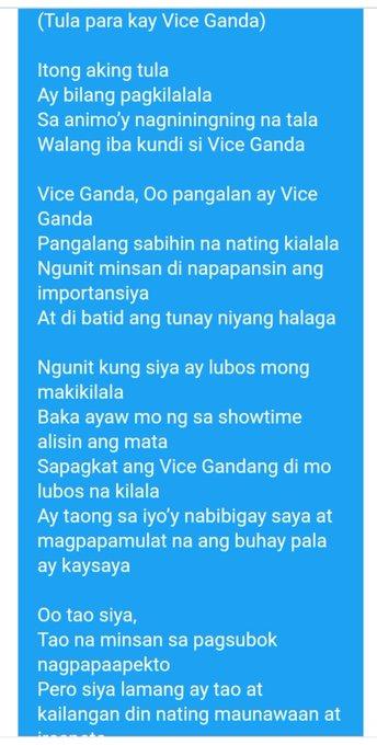 Happy bday vice Ganda.. Napatula pa ako tuloy