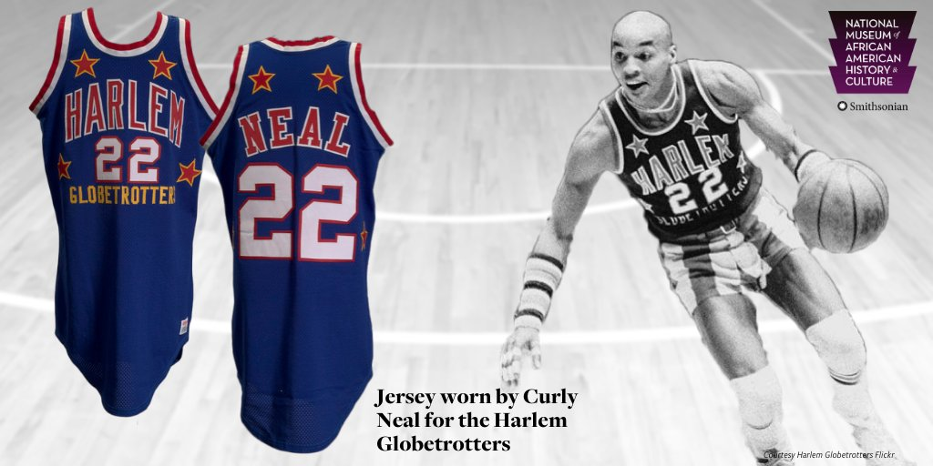"""[Harlem Globetrotter] Fred 'Curly' Neal was a showman who brought joy to basketball fans all over the world. At a time when the art of dribbling had only been mastered by a few, Curly was the guy that a generation of basketball players sought to imitate."" - Damion Thomas, NMAAHC"