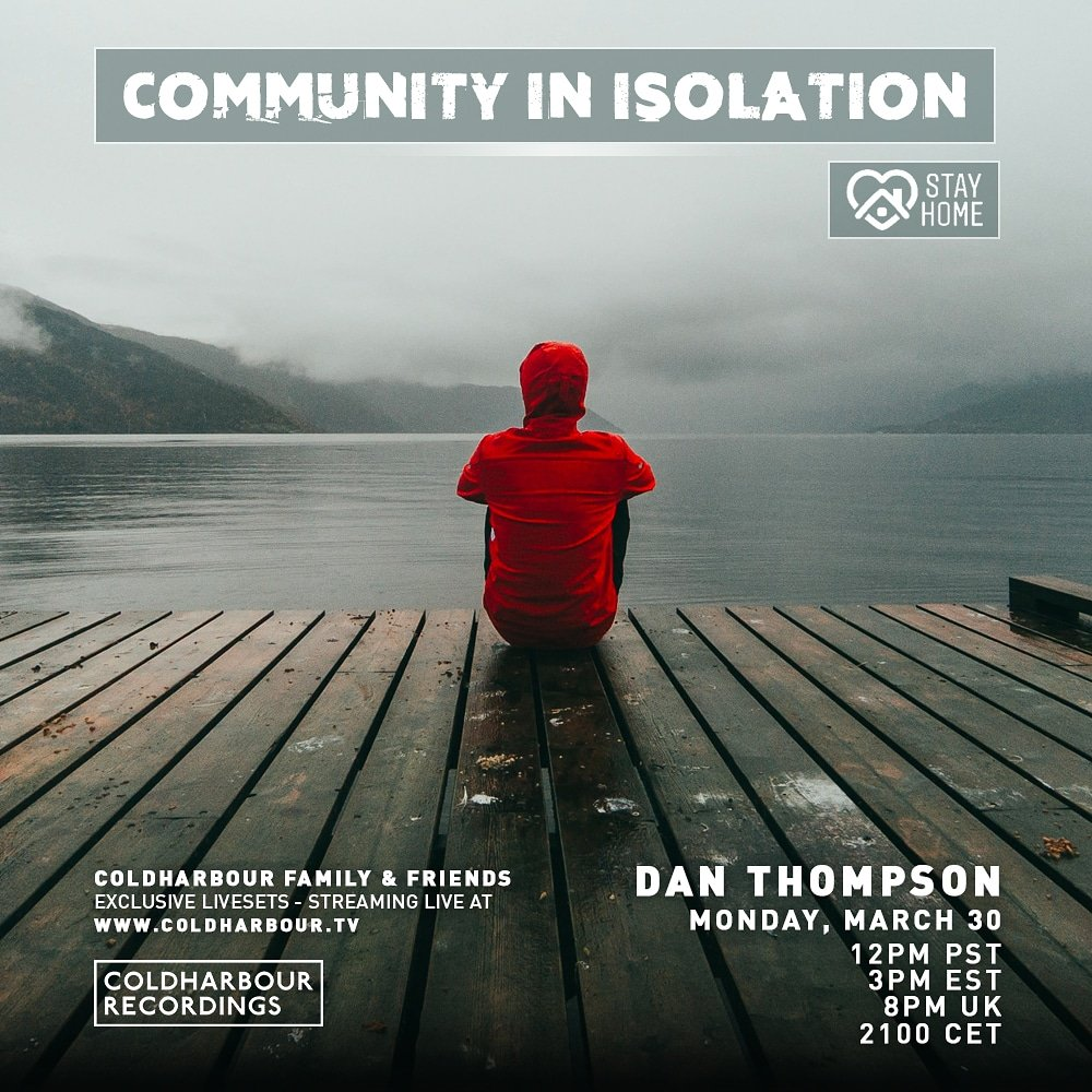 More live action from my self tonight!  This time it's for @Coldharbour  A couple of IDs, releases & Bootlegs plus stuff that I've been digging recently! Tune in from... 2000 UK / 2100 CET / 1200 PST / 0300 EST  Join me for my 'Comminity In Isolation' mix! https://t.co/thj15cRy3w https://t.co/HsY1f50obd