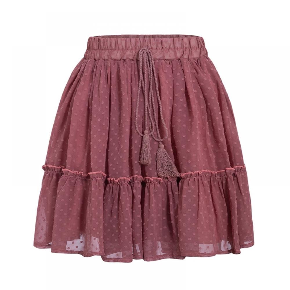 Bohemian Mini Skirt with Tassel #jacket #cool