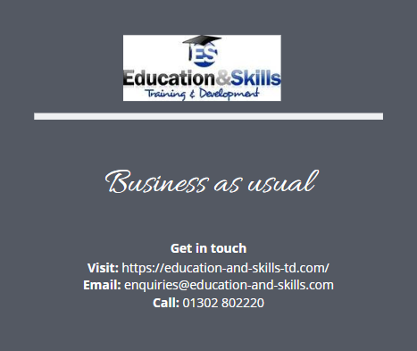 We are open for business as usual. Get in touch with us Monday - Friday 9am - 5pm to discuss your training needs.  . . #SomeGoodNews #Traininginlockdown #training #courses #apprenticeships #teachingfromhome #remotelearning #traininganddevelopment #success #ShareAFactNoOneAskedFor