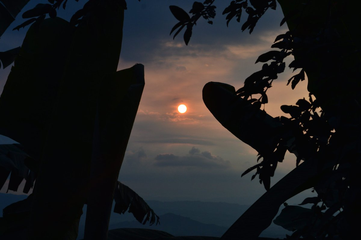 Hermoso atardecer en el Quindio. #sunset #FOTOS #fotografia  #landscape