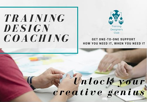 Design coaching gives you access to an experienced #training designer who will help you to scope out, shape, or invigorate your training solutions. You can find out more here