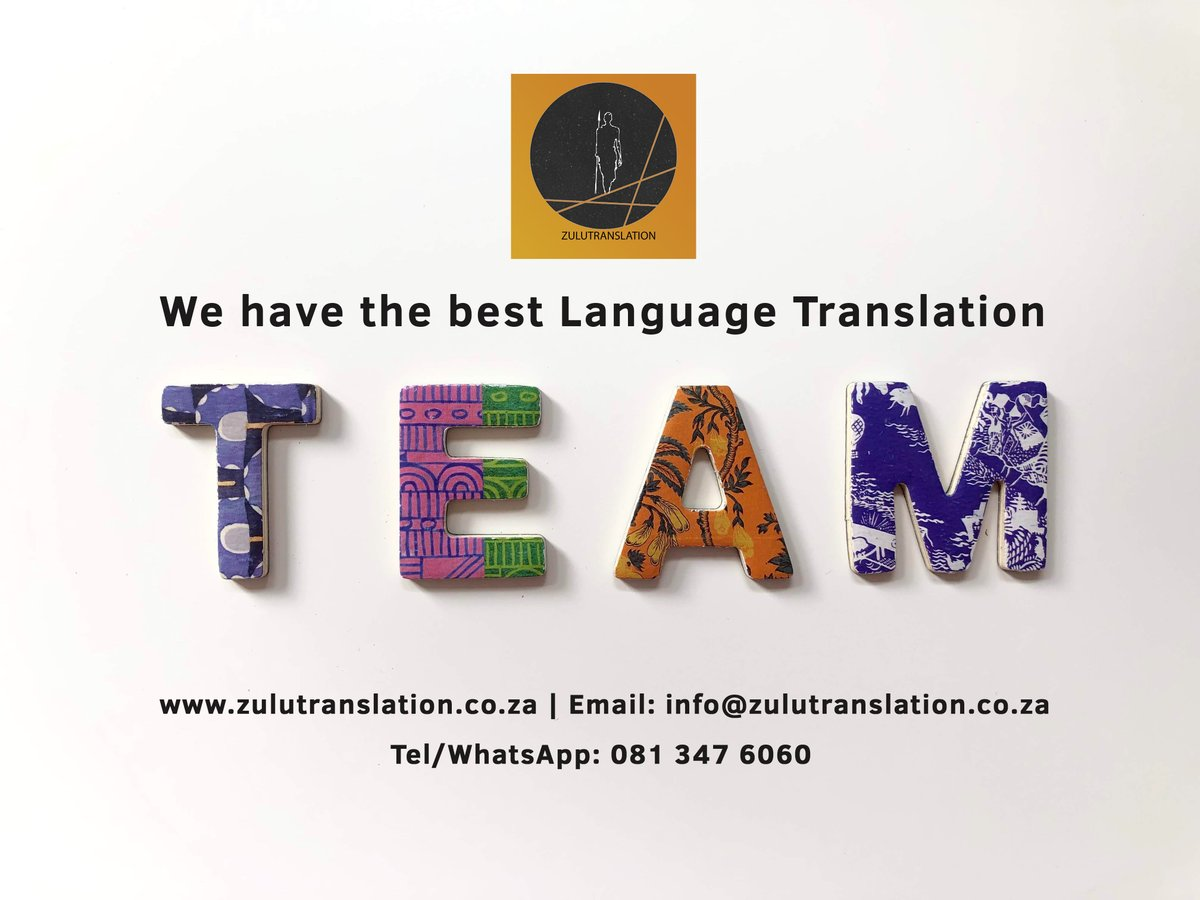 We have the best #translation Team. #day4 #Quarantine #translationservices #zulutranslation #zulu #saps #Covid_19 #DonaldTrump #Drake #SouthAfrica #Africa #Durban #johannesburg #Pretoria #gauteng #SB19 #SBWL