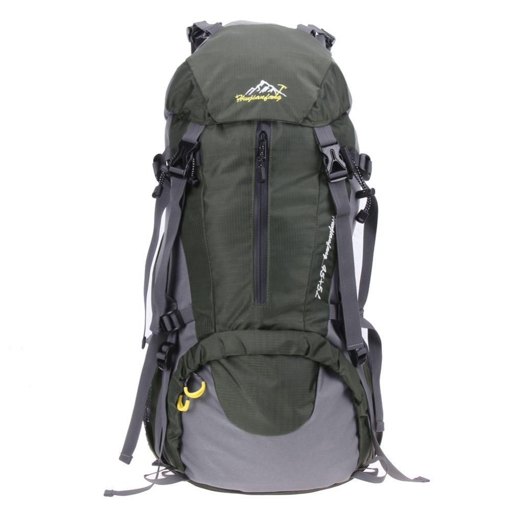#trekking #sunset Useful Large-Capacity Waterproof Nylon Camping Backpack