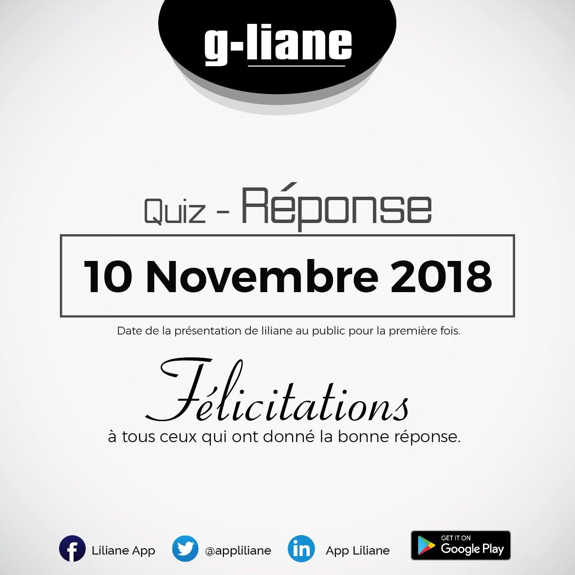 Le gagnant de #Gliane 2 est @jnoumonvi. Il a été le premier à avoir la bonne réponse et ça s'est passé sur Twitter...@appliliane! Il vous montrera (ou non) lui-même son #Gliane prix... Félicitations @jnoumonvi https://t.co/PBSUjscMJP
