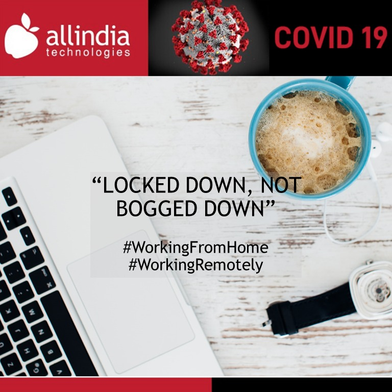 Allindia's project teams are working remotely in coordination with each other. Your project manager is available during normal working hours on phone, email and chat for project discussions & delivery updates.  #WFH #WorkingRemotely #IndiaFightsCorona #AllindiaFightsCorona https://t.co/MxYIgJopmM