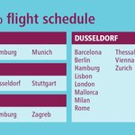 Image for the Tweet beginning: Our remaining flights in operation
