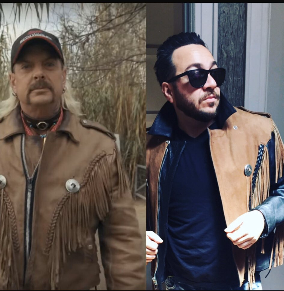 Holy fucking André Leon Talley.. #TigerKing & I have the same fashion sense and I'm #JoeExotic  #TigerKingNetflix #Fashionista #fashion #whatnottowear #sayyestothedress pic.twitter.com/1lujhEjexc