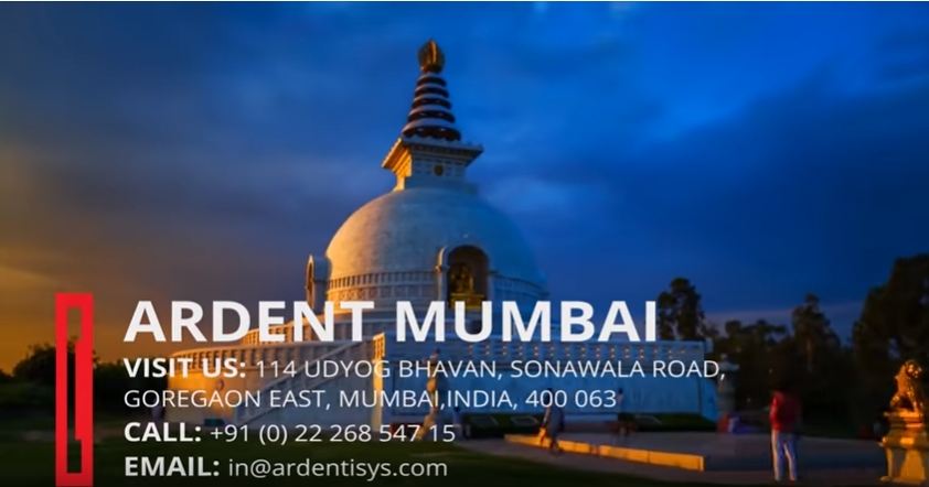 Ardent Mumbai Visit Us  114 Udyog Bhavan, Sonawala Road, Goregaon East, Mumbai India, 400 063  Call Us +91 (0) 22 268 547 15  Email Us in@ardentisys .com  http://www.ardentisys.com/about-us/contact-us  … #Mumbai  #India  #ContactUs  #ContactDetails