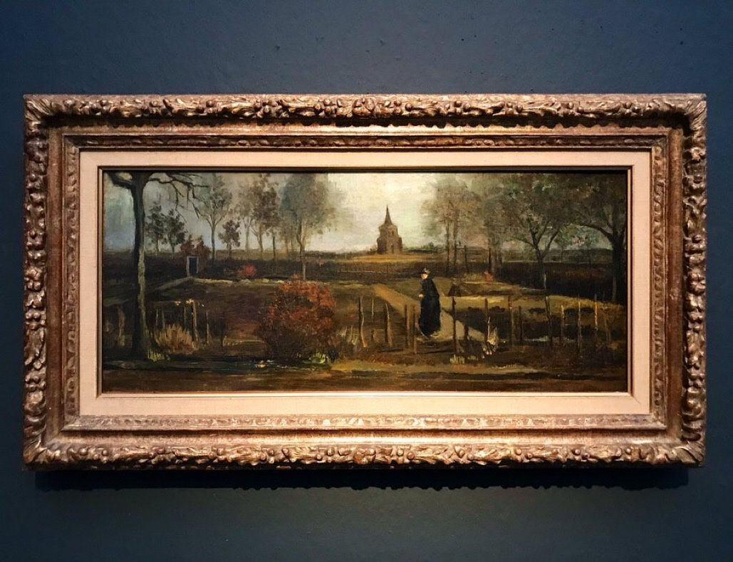 Caraa On Twitter The Spring Garden Painting By Vincent Van