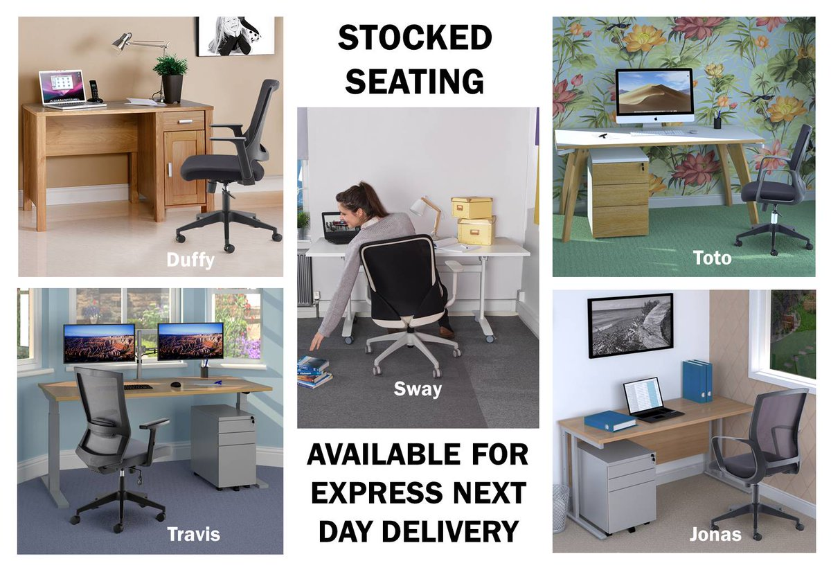 Dams Furniture On Twitter Many People Invest In A Desk For Their Home Office But Still Insist On Using A Kitchen Chair Armchair Or Stool To Sit On This Can Be A