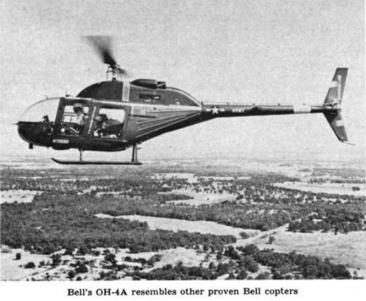 It was charitable in 1963 to say the OH-4 sort of looked like other designs. The ungainly thing lost the LOH competition & created nightmares for Bell's commercial marketing team. Yet it developed into one of the best looking & most produced helicopters ever #Airmobility #AvGeeks