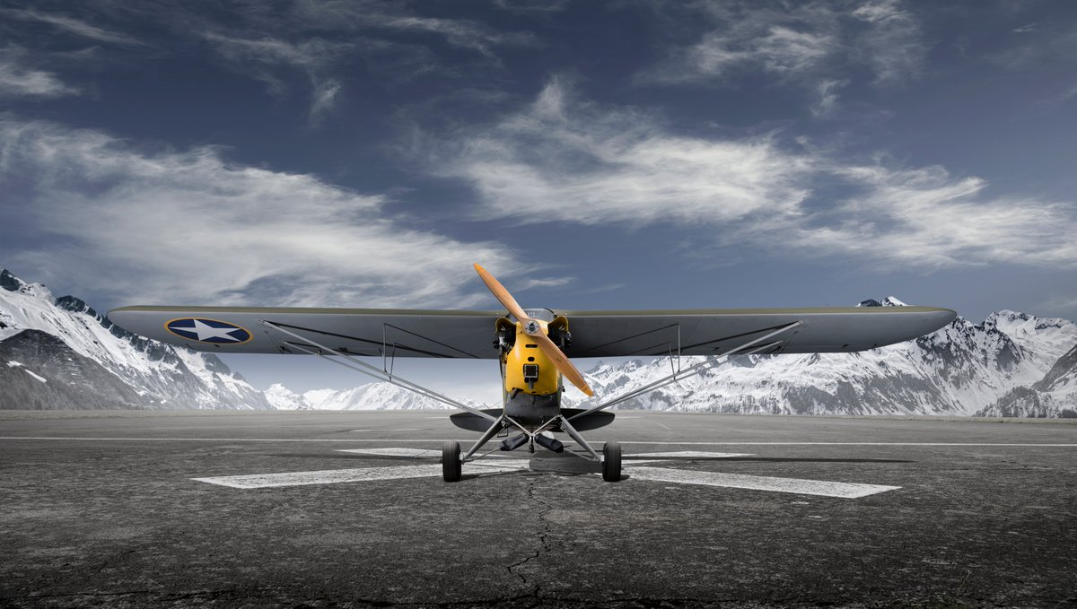 What started out as a weekend hobby for American #avgeeks soon turned into one of the most important aircraft of World War II. Discover the incredible history of the Piper Cub in #WarbirdWorkshop 🛩️ Thursday at 9pm only on Yesterday