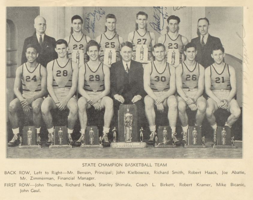 80 Years Ago Today (March 30, 1940) The Hammond Tech Tigers were crowned #IHSAA Boys Basketball State Champions! 🏀🏆🥇