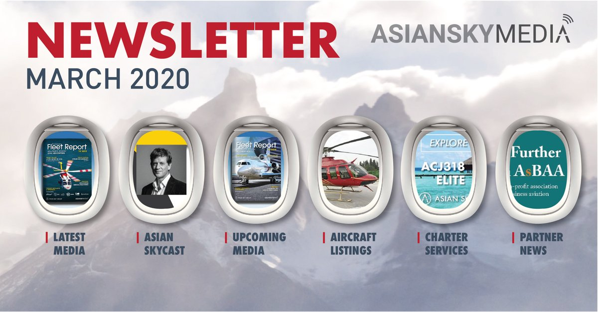 It's been a busy month for Asian Sky Group and Asian Sky Media, with new #aircraft listings, #charter availability and new media covering Hong Kong, COVID-19, sustainability and more: https://t.co/y2GgK8SdD3  #AsianSkyMedia #AsianSkyGroup https://t.co/KbFl4FMDh4