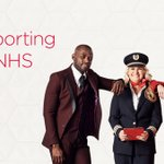 Image for the Tweet beginning: Proudly supporting our NHS. Throughout