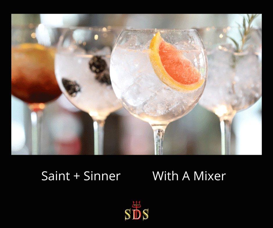 Perfect drink for those warm summer evenings to come ! We are born a #saint but we love to #sin   check out our fab range of spirits  #drink #bar #cocktail #party #instagood #music #mixology #friends #alcohol #drinking  #pub #gin #yummy #fun #restaurant