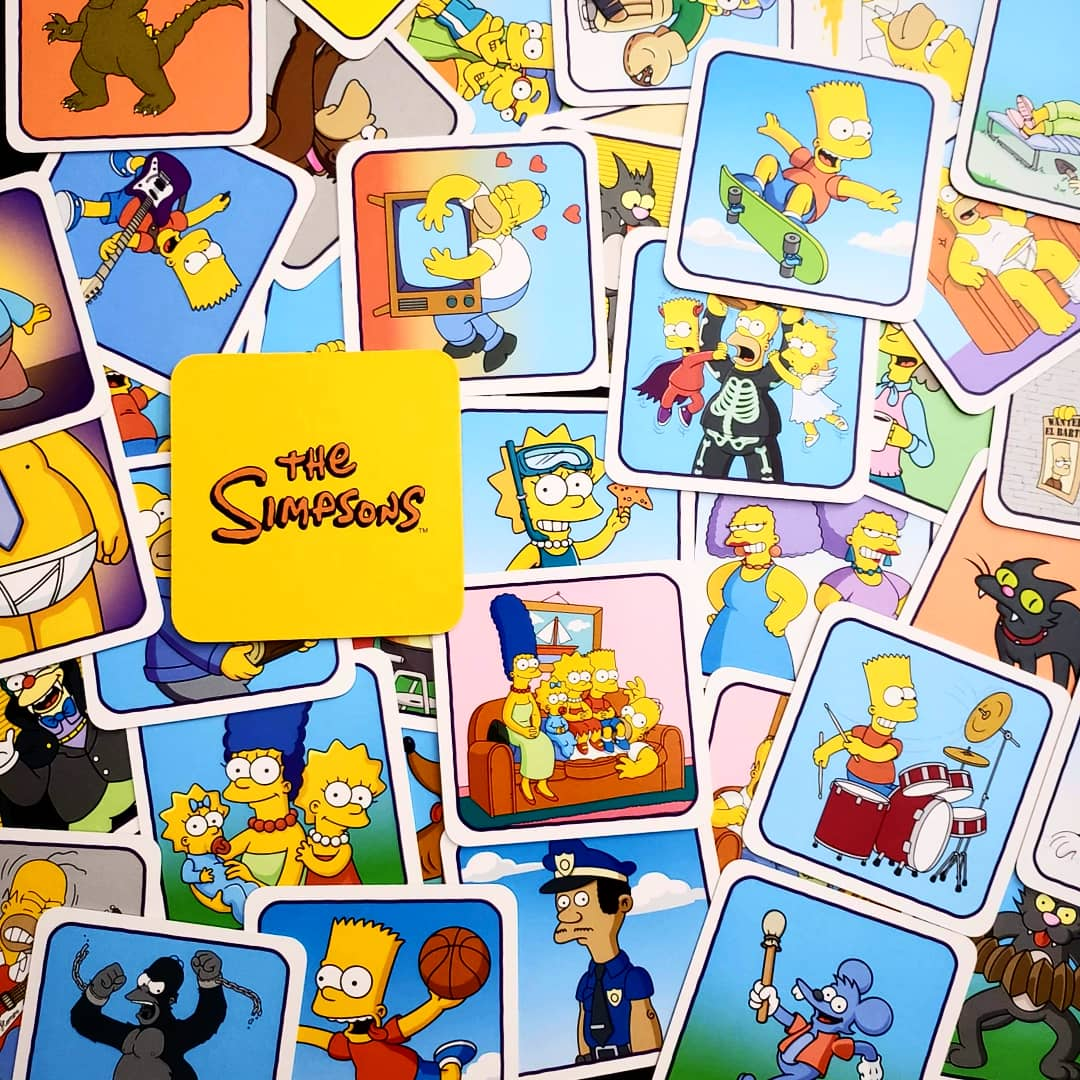 test Twitter Media - Are you a fan of The Simpsons? (well who isn't?) Are you a fan of Codenames?! (well who isn't?) this might be the perfect game for you! Vibrant art you know and love or added challenge with words on the back. Great title from @TheOpGames and @czechgames! - Steph @BoardGamerSteph https://t.co/oWB15tTmlK