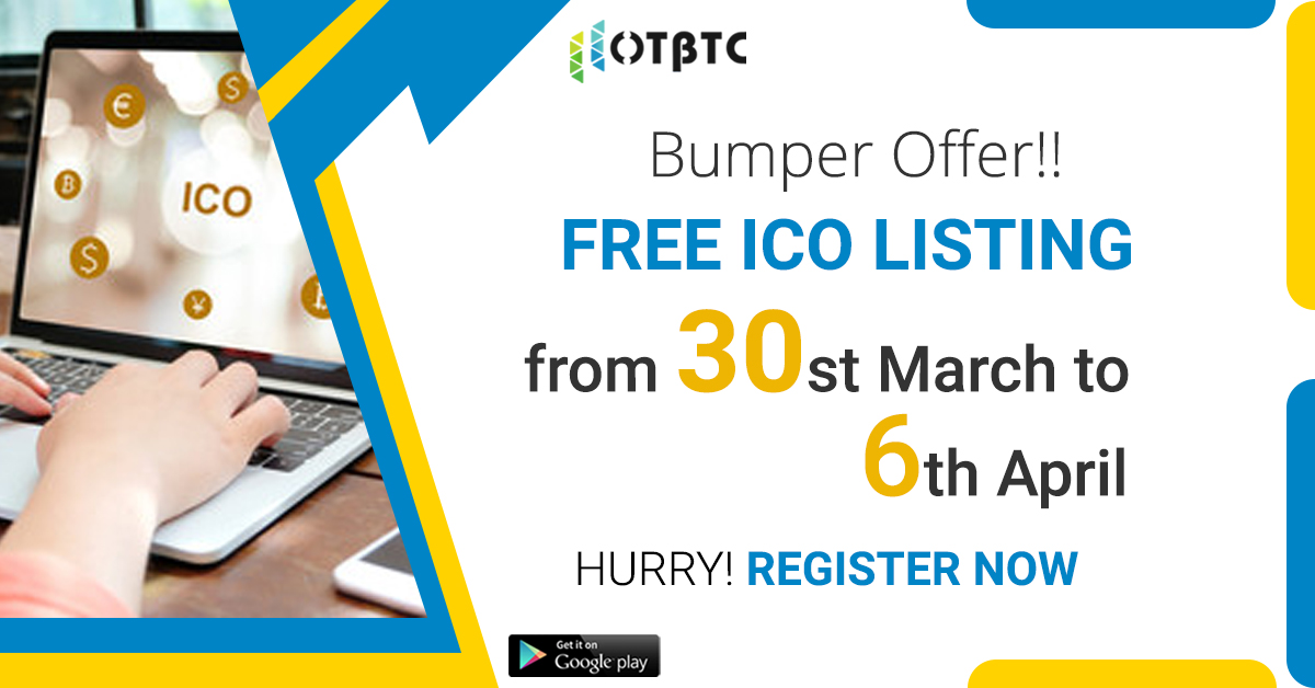 Enjoy free ICO listing on HotBTC this week, we list ICOs and coins. Submit your ICO project to us now https://link.medium.com/XA2FdcIkh5 #cryptotrading #exchange #hotbtc #cryptocurrency #ico #icolisting pic.twitter.com/fqt1fTxd2F