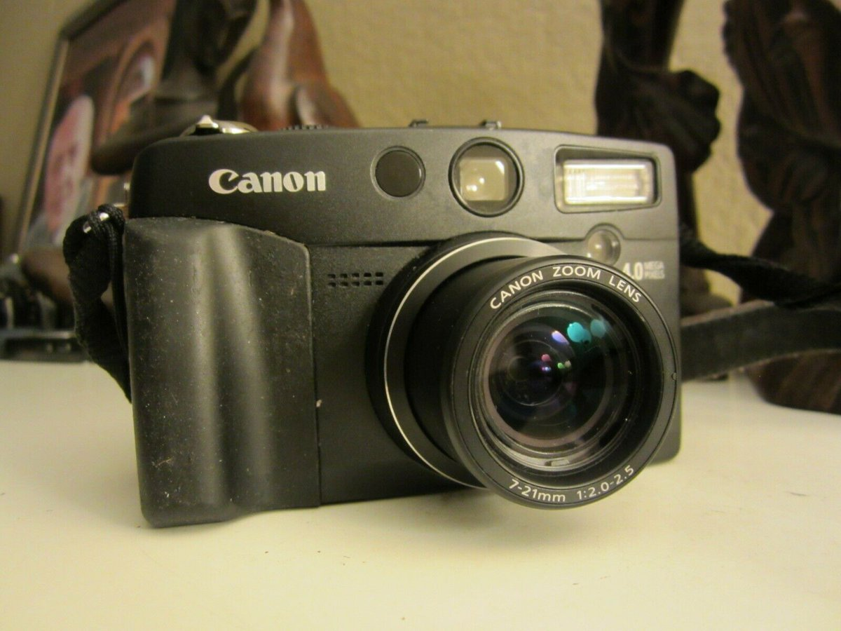 #Canon #PowerShot G2 4.0MP #Digital #Camera #ForSale - Metallic silver #Electronics - #SanJose, CA at #Geebo