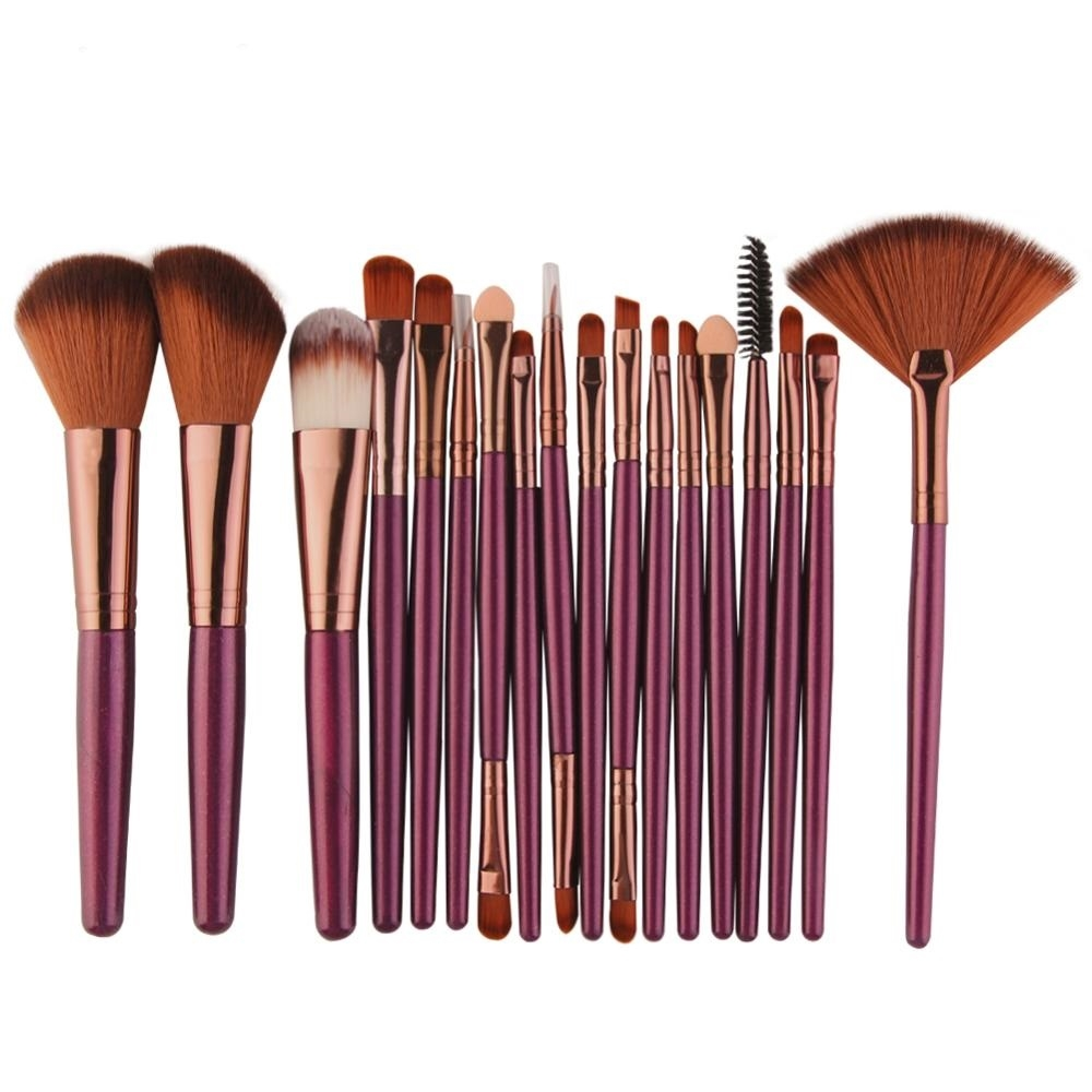 Makeup Brushes Tool Set 6/15/18Pcs IKSMarkets - Things and more Shop @  Tag, Follow and Share. #fashion #menswear #womenswear #kidswear #electronics #watch #iphone #galaxy #apple #samsung #tshirts #jewelry #beauty #jeans