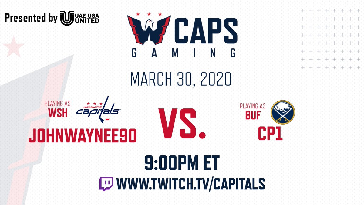 Washington Capitals @Capitals