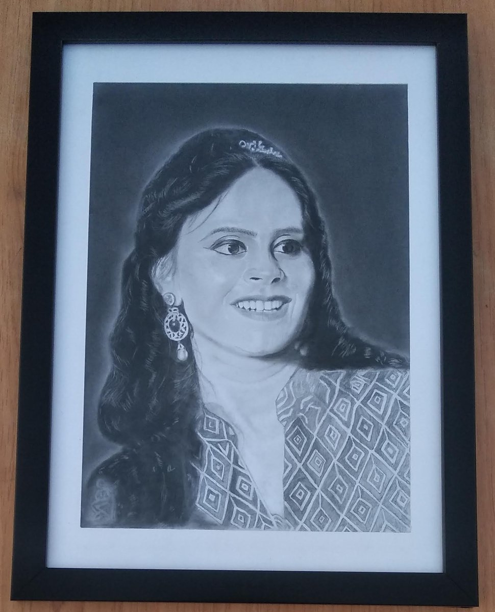 #Birthday #gift Delivery Available.  Order your Sketch from anywhere.