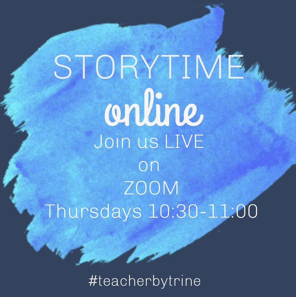 Hi friends! My classmates and I will be hosting online story time every Thursday morning from 10:30-11:00. We will read 3-4 children's books  every time we meet. DM me if you are interested and I will send you a link to our zoom room  #teacherbytrine #onlinestorytrine<br>http://pic.twitter.com/eEZHSKGbtF