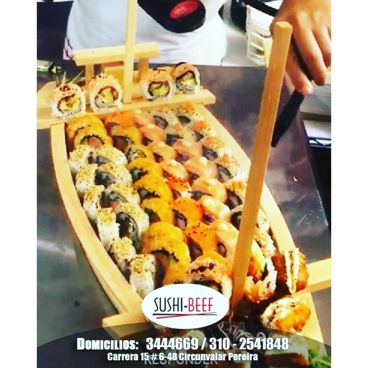 Los días en #Casa son mas tranquilos con #Sushi #Beef  #Pereira #QuedateEnCasa y ordena ya tu sushi #Favorito...!!! Domicilios: 3444669 Whatsapp: 310-2541848 Cra 15 # 6-48 Circunvalar Pereira