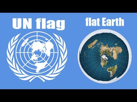 united nations flat earth map Itstommydee On Twitter 9 It Looks Like This Just Like The