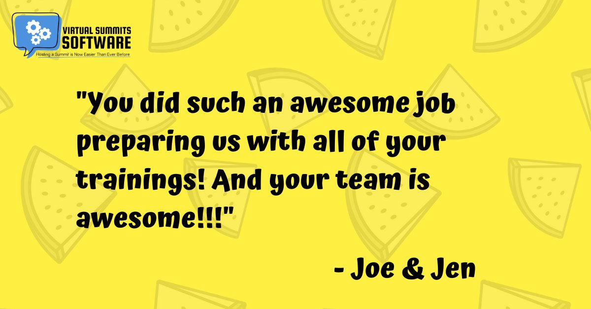 Got cool reviews from Joe & Jen about our team. Thank you two! #summitscripts #virtualsummit #virtualsummithost #virtualsummitstrategy #virtualsummittips #virtualsummitsuccess #profitablevirtualsummit #virtualsummitemail #virtualsummitcopy #virtualsummitmastery #onlinesummitpic.twitter.com/iHzhC0rNIr