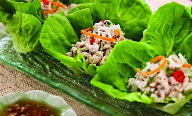 How to make Chiang Mai Chicken in lettuce cups bit.ly/2yfRTdq
