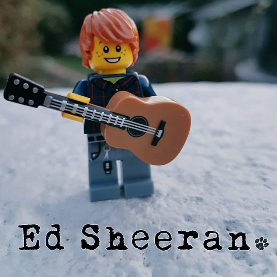 I made Lego @edsheeran