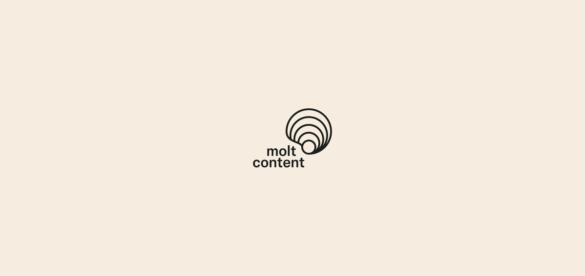 molt content is my own visual identity for my graphic design projects. I'm an industrial design engineer based in Barcelona, trying to improve my design skills one project at a time.  https://www.behance.net/gallery/94478681/molt-content-Visual-Identity…pic.twitter.com/rn4rB6mEUn