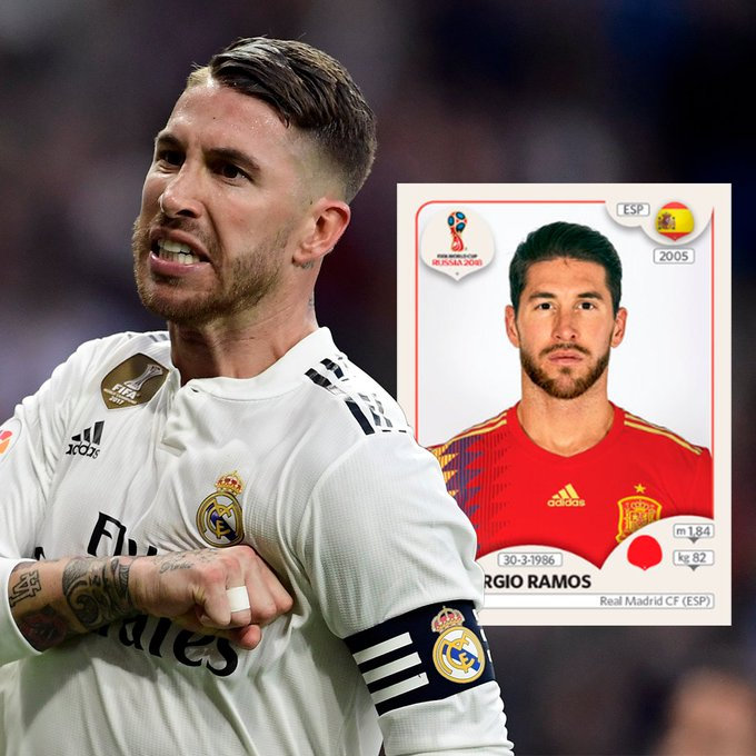 Sergio Ramos, one of the best defenders in the whole world!!!! Happy birthday, champion!!!