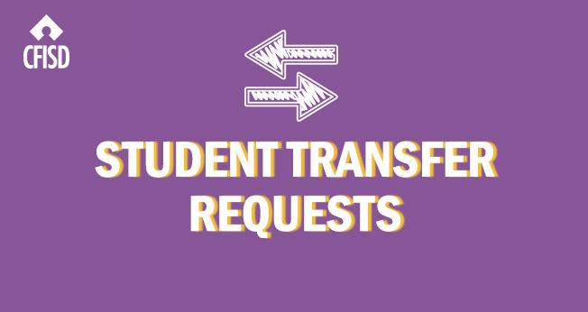 Student transfer forms for 2020-2021 school year available April 1 | cfisd.net/en/news-media/… #CFISDspirit
