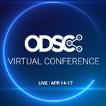 Image for the Tweet beginning: #ODSCVirtual Conference   #DataScience #MachineLearning