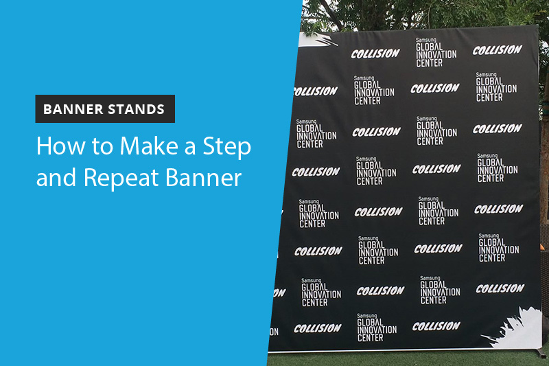 A step and repeat banner is a great way to promote your brand at an event. What are some best practices you can follow when designing one?   #stepandrepeat #Vegas #marketing #wedding #brand