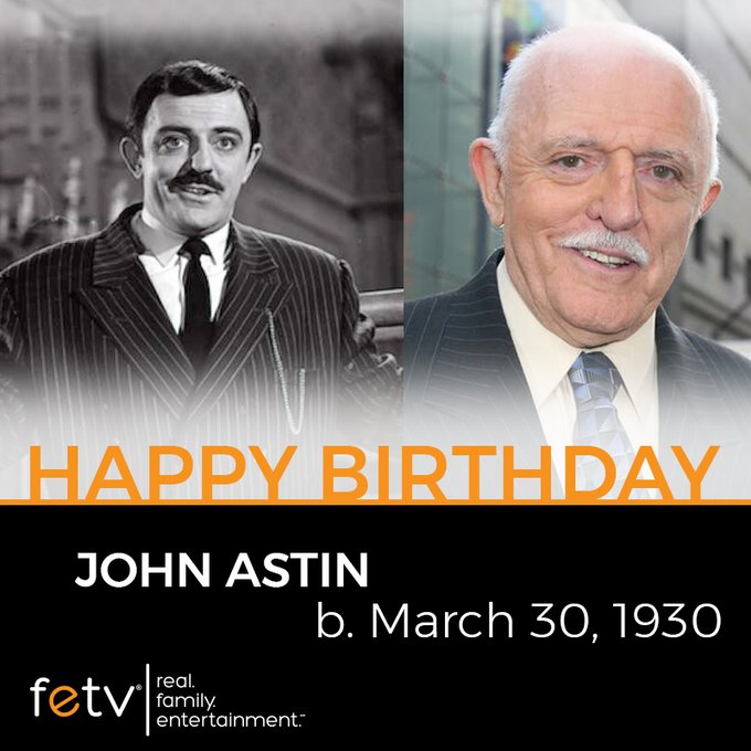 Happy Birthday to John Astin! The classic TV star turns 90 today.