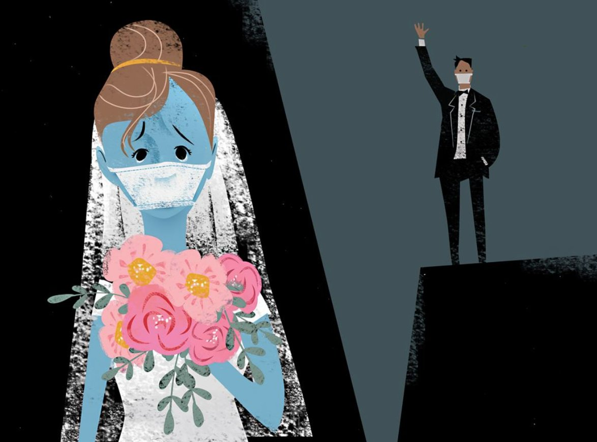"""How has #COVID19 impacted the #wedding industry? @SaraB_PG + I chatted with insiders as well as upcoming couples looking to say """"I do"""".   @PittsburghPG"""
