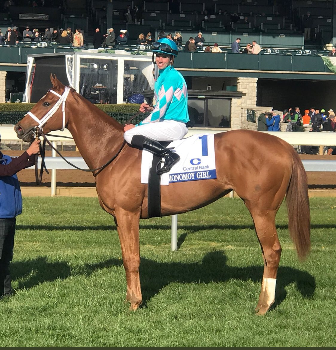 test Twitter Media - 1st week of April has me thinking of the G1 Ashland @keenelandracing where Monomoy Girl gave @bradcoxracing first G1 win and @BSWCrow first G1 public auction win. Such a special week thanks to a truly special filly. Was looking forward to watching British Idiom try to do the same https://t.co/PLQAKGcwZ9