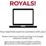 Image for the Tweet beginning: Attention @BishopReding students! Your teachers