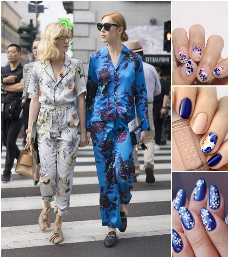 Now it's the perfect time to bring back the pajama trend which was a great hit several seasons ago! Maybe plus a DIY mani in bed?  #stayhomesavelives #Manimonday pic.twitter.com/XObfI5BWGo