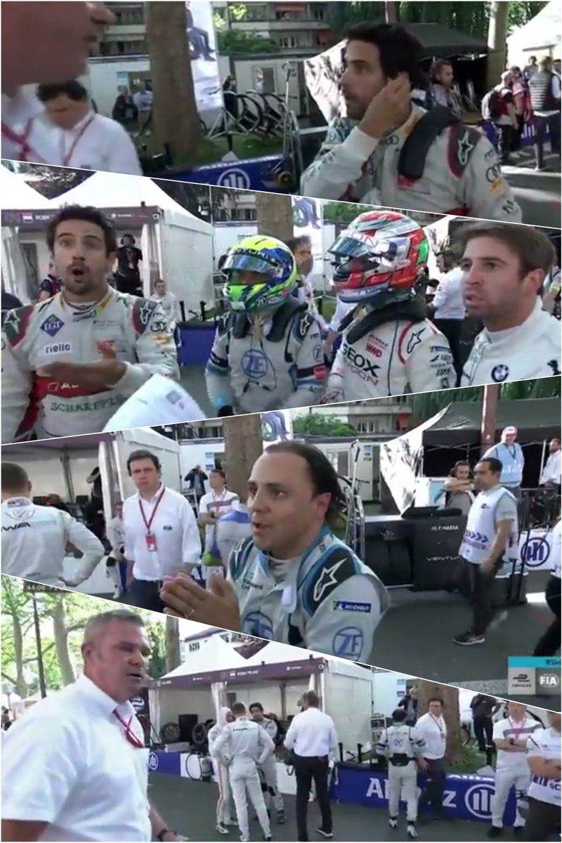 Best moment or best moment in #BernEPrix #SwissEPrix @FIAFormulaE ⚡⚡⚡⚡⚡⚡⚡⚡⚡⚡⚡⚡⚡⚡ @LucasdiGrassi @MassaFelipe19 @afelixdacosta https://t.co/s3rV06nvVK